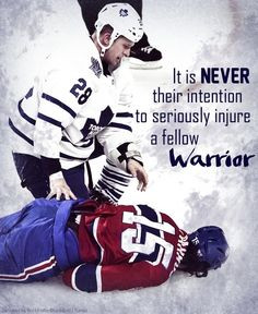 ... Players, Orr Eye, Colton Orr, Fellows Warriors Thy, George Parro