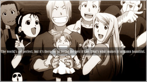 Fullmetal Alchemist Brotherhood Quotes
