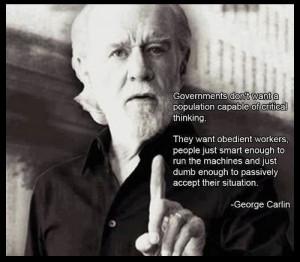 Wise man... George Carlin