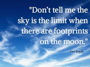 Paul Brandt: Sky is not the limit