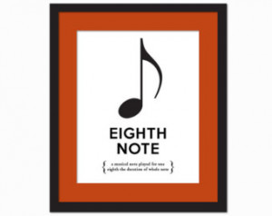 ... Poster - Gift for Musician Music Teacher - 8 x 10 Wall Art Decor