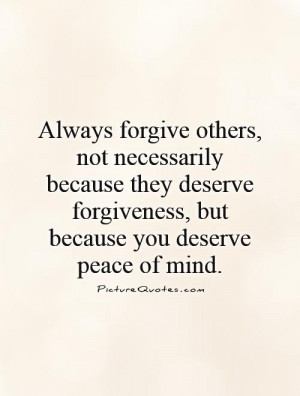 Peace of Mind Quotes and Sayings