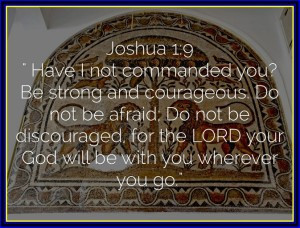 bible quotes on strength and courage