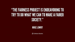 Fairness Quotes