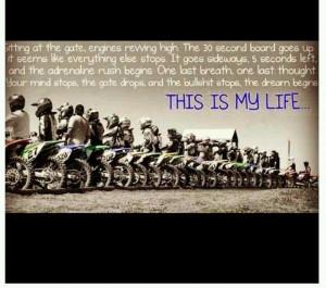 ... Braaap, My Life, Motocross Quotes, Dirtbike Motocross, Dirt Bikes