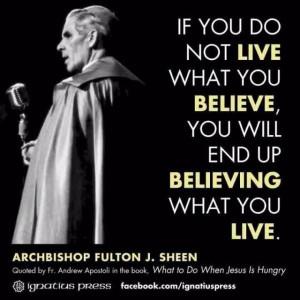 Archbishop Fulton Sheen #Wisdom Wednesday