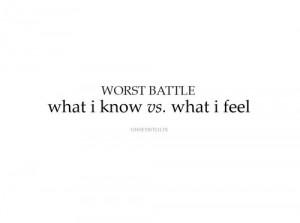 battle, cute, feel, know, quote