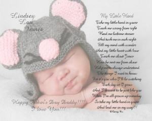 New Dad Personalized Poem