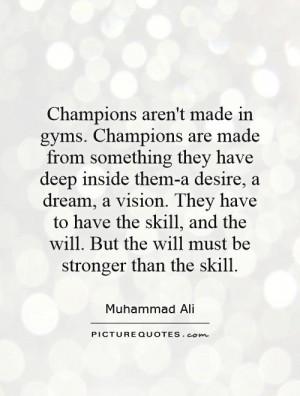 Championship Quotes