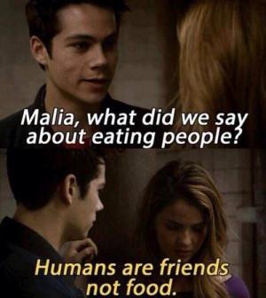 funny, quote, teen wolf, malia