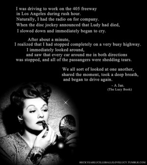 Lucille Ball & I Love Lucy