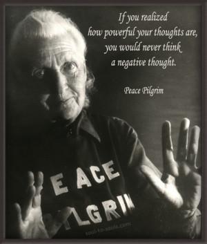 Peace Pilgrim Quotes (Images)