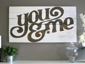 45. Printable Quote Stencil Wall Art : If you have a big space to fill ...