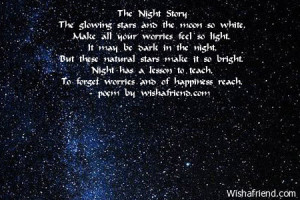 The Night StoryThe glowing stars