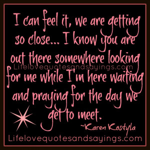 Showing Gallery For I'm Waiting for You Quotes