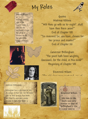 Scarlet Letter Character Quotes, The Scarlet Letter Characters ...