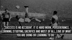 ... , studying, sacrifice and most of all, love of what you are doing