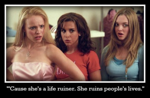 Funny Girl Mean Girls Quote