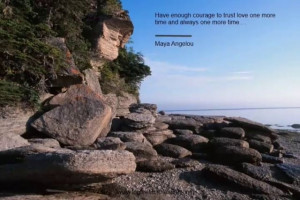 Inspirational Quotes - Finding Courage - track12 sample
