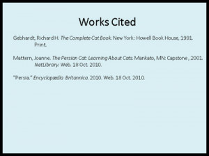 Mla Citation Powerpoint
