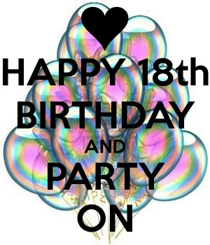 Related Pictures 18th birthday quotes sayings and greetings