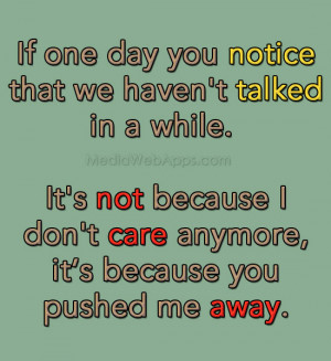 quotes about not caring about life anymore