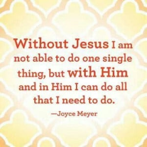 can do ALL with Jesus