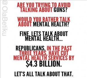 mental health cuts make me CRAZY