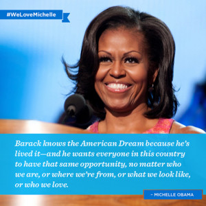 michelle obama quotes hates america Neighborhoods