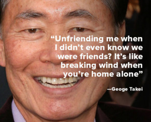 celebrities george takei quote of the week quotes star trek