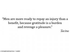 Retaliation Quotes #criminal minds #quote