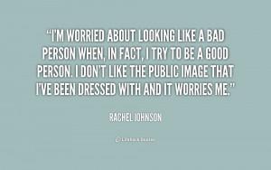 Rachel johnson...
