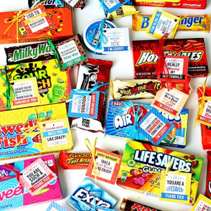 Clever Candy Sayings for {almost} Every Occasion!
