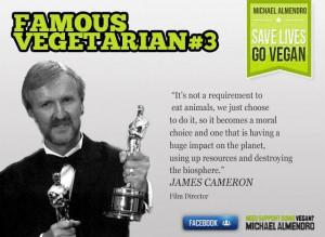Famous Vegetarians (3) James Cameron