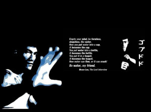 Benjimc Deviantart Art Quot Like Water Bruce Lee