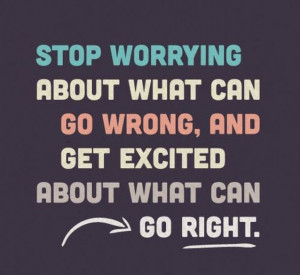 Stop worrying #Quote #Mantra
