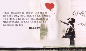 perri banksy balloon banksys girl with the red banksy tattoo quotes ...