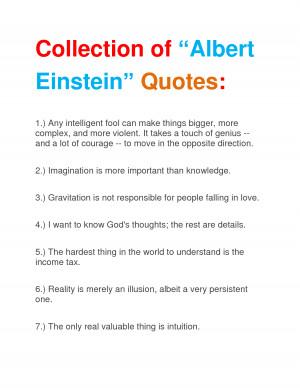 Albert Einstein Quotes On Education