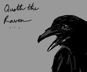 Poe's; The Raven