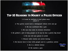 ... police officers wife more police offices police officer tops 10 10