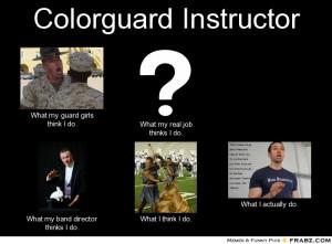 Color Guard Memes