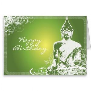 Birthday Buddha Greeting Cards