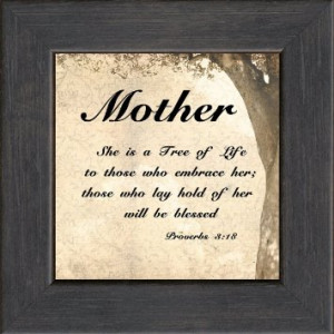 ... com mother inspirational saying framed gift for encouraging bible