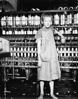 Addie Card, 12 years. Spinner in Cotton Mill. Vt.