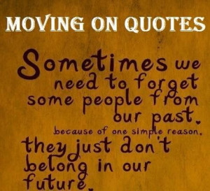 Quotes on lost love and moving on