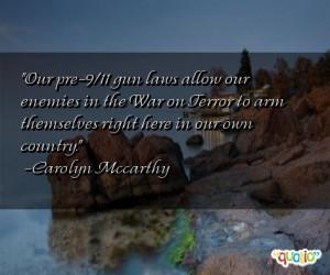 Our pre-9/11 gun laws allow our enemies