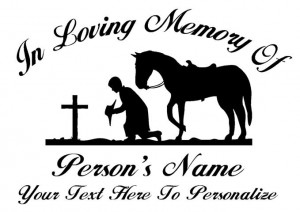 Sexy Cowboy Sayings Memorial cowboy at cross ( ...