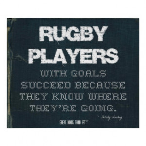 Rugby Quotes Gifts - T-Shirts, Posters, & other Gift Ideas