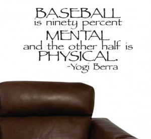 Famous Baseball Quotes and Sayings