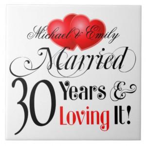 30th Anniversary Sayings